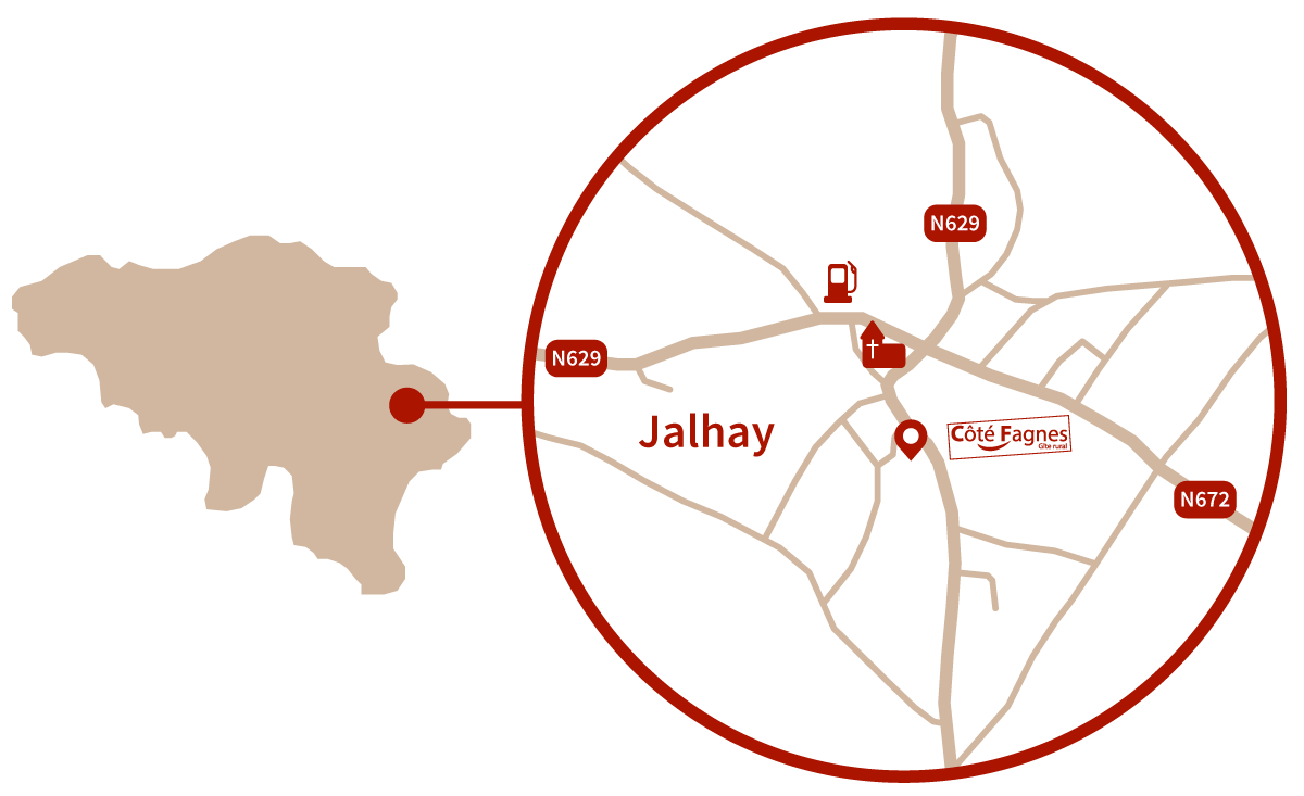 carte accès Jalhay